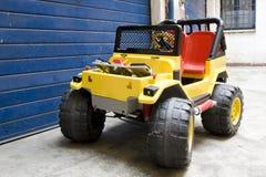 pustynne samochód zabawki Zdjęcia Royalty Free