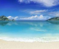 Pustynne wyspy Zdjęcia Royalty Free