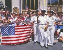 Pustynnej Burzy zwycięstwa Militarna parada, washington dc Obraz Stock