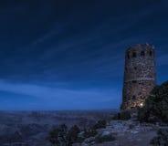 Pustynnej wieży obserwacyjnej Uroczysty jar Zdjęcie Stock