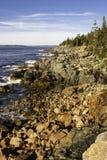 Pustynnej wyspy zatoczka zdjęcie stock