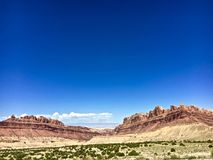 Pustynni plateau Obrazy Royalty Free