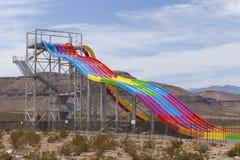 Pustynni setkarzi ślizgają się przy Moczę n Dziki, w Las Vegas, NV na Kwietniu 24, Zdjęcia Stock