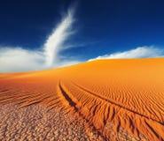 pustynny Algeria tadrart Sahara Zdjęcia Royalty Free
