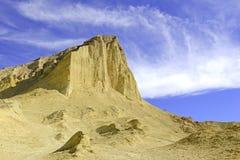 Pustynny badlands krajobraz, Śmiertelna dolina, park narodowy Obraz Royalty Free