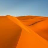 pustynny diun Libya Sahara piasek Obraz Royalty Free