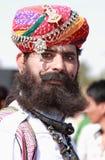 Pustynny festiwal w Rajastan Zdjęcia Royalty Free