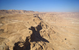 pustynny fortyfikacyjny judean rzymski Zdjęcia Stock