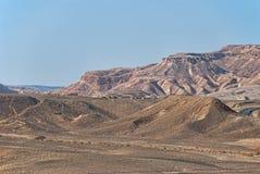 pustynny Israel gór negev Obrazy Royalty Free