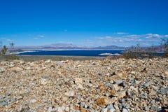 pustynny jeziorny dwójniak Nevada Fotografia Royalty Free