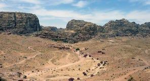 pustynny Jordan Obrazy Royalty Free