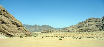 pustynny Jordan Zdjęcie Stock