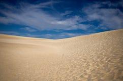Pustynny krajobraz Zdjęcia Stock