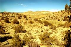Pustynny krajobraz fotografia stock