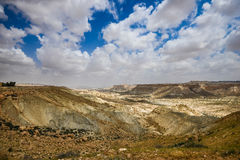 Pustynny krajobraz blisko Jerozolima, Izrael Zdjęcie Royalty Free