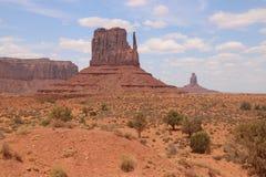 Pustynny krajobraz w Arizona, Pomnikowa dolina Kolorowy, turystyka zdjęcie stock