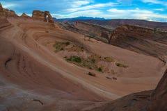 Pustynny Krajobrazowy Deliacate łuk Zdjęcia Stock
