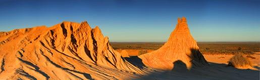 Pustynny Krajobrazowy odludzie Australia Fotografia Stock