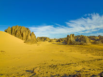 pustynny krajobrazowy Sahara Obraz Stock