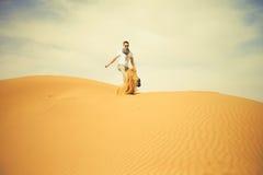 pustynny mężczyzna Fotografia Stock