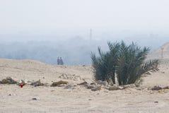 Pustynny minaret Zdjęcia Royalty Free