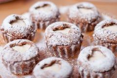 Pustynny muffins tort Obraz Royalty Free