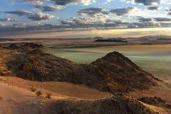 pustynny namib Namibia nuakluft Zdjęcia Royalty Free