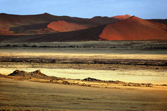 pustynny namib Namibia sossusvlei Obrazy Royalty Free