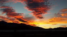 Pustynny niebo Fotografia Stock