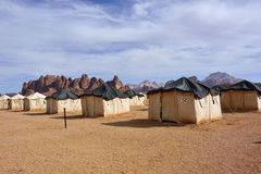 Pustynny obóz Fotografia Royalty Free