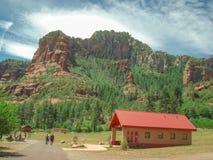 Pustynny park narodowy Zdjęcie Stock