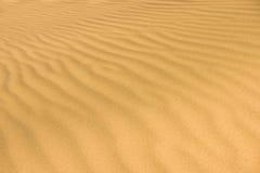 Pustynny piasek Zdjęcia Stock