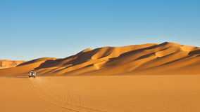 pustynny przygoda safari Sahara Zdjęcia Stock