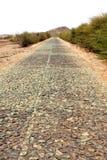 Pustynny road zdjęcia stock