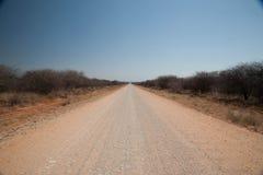 Pustynny road Fotografia Stock