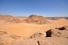 pustynny rumowy wadi Fotografia Royalty Free