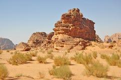 pustynny rumowy wadi Obrazy Stock