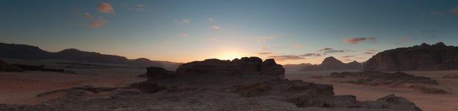 pustynny rumowy wadi Fotografia Stock