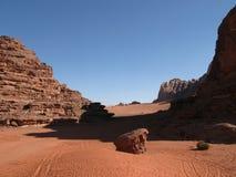 pustynny rumowy wadi Obraz Royalty Free