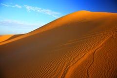 pustynny Sahara Zdjęcie Stock