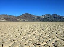 pustynny suchy jezioro Fotografia Royalty Free