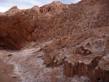 Pustynny teren w San Pedro De Atacama Zdjęcie Stock