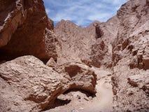 Pustynny teren w San Pedro De Atacama Obraz Stock