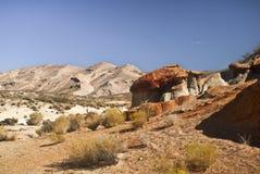 pustynny widok Zdjęcie Royalty Free