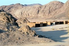 pustynny wschodni Egypt Zdjęcia Stock