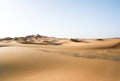 pustynny wydmowy moroccan Zdjęcia Stock