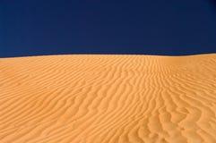 pustynny wydmowy Oman piasków wahiba Zdjęcia Stock