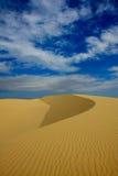 pustynny wydmowy piasek Obrazy Royalty Free