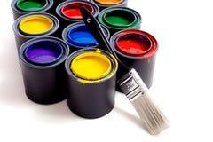 puszek farby Obrazy Stock