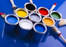 puszek farby w Obrazy Stock